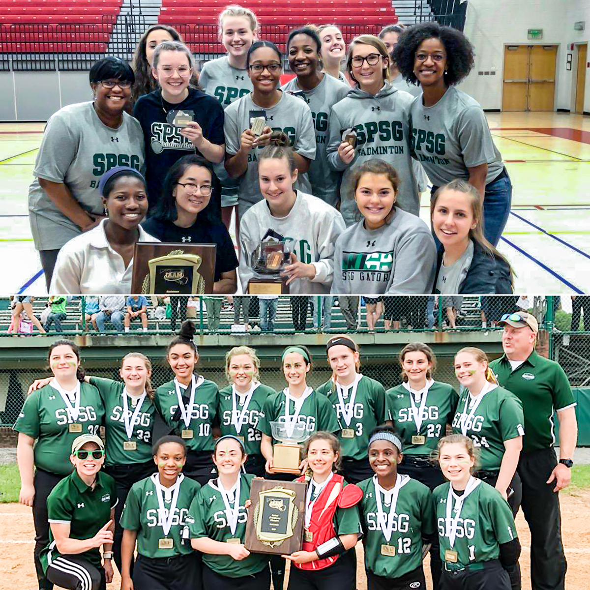Softball & Badminton Earn Conference Championships